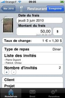 iNote de frais Les bons plans de lApp Store ce mercredi 31 août 2011