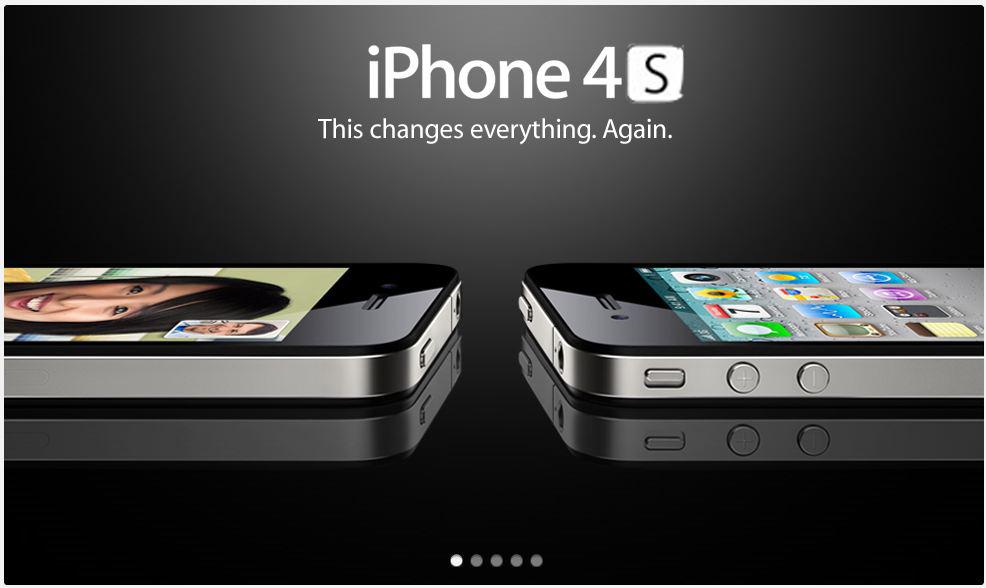 Fausse pub iPhone 4S