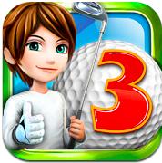 icone Lets golf 3 de Gameloft disponible gratuitement sur lApp Store