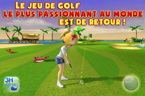 image 1 LG3 Lets golf 3 de Gameloft disponible gratuitement sur lApp Store