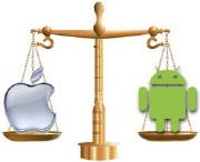 ios android balance Android et iOS aimés des Smartphones