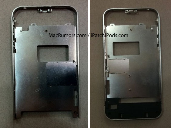 ip4s Des photos de la structure interne dun iPhone 4S : Double bande avec un bouton Home tactile ?