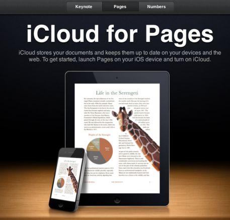 iwork iCloud.com disponible en version bêta   Les tarifs du Stockage dévoilés