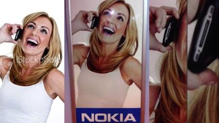 nokiastockphoto LiPhone 4 utilisé par Samsung et Nokia !