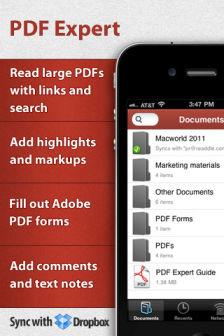 pdf expert [MÀJ] Les bons plans de lApp Store ce lundi 1er août 2011
