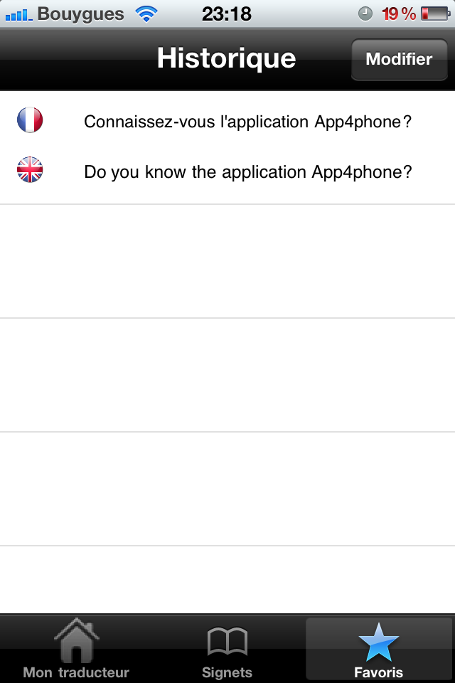 test mon traducteur pro ecran favoris Test de mon traducteur pro   Parlez 52 langues simplement