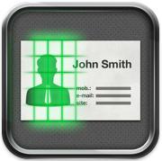 TestCadScanPro Icon Test De Card Scanner Pro Reconnaissance Et Importation Cartes Visite Sur IPhone