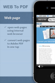 webto pdf [MÀJ] Les bons plans de lapp Store ce mercredi 3 août 2011