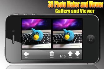 3D photo maker Les bons plans de lApp Store ce lundi 19 septembre 2011