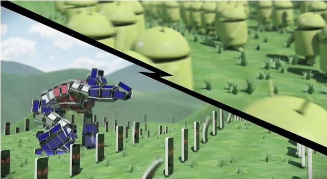 Android iOS The Phony War : Une vidéo amusante qui retranscrit la guerre que se livrent Android et iOS