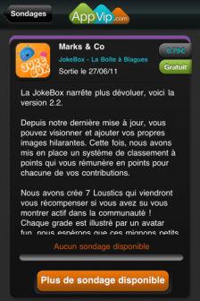 Appli vip Les bons plans de lApp Store ce vendredi 30 septembre 2011