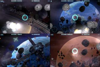 Asteroid dust Les bons plans de lApp Store ce jeudi 22 septembre 2011