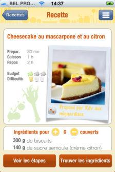Best of blogs cheesecakes Les bons plans de lApp Store ce lundi 19 septembre 2011