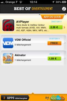 Best of divertisement Les bons plans de lApp Store ce mercredi 28 septembre 2011