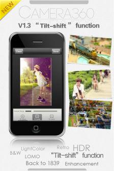 Camera 360 ultimate Les bons plans de lApp Store ce jeudi 8 septembre 2011 (14 Apps gratuites !!)