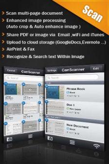 Camscanner pro [MÀJ] Les bons plans de lApp Store ce mardi 13 septembre 2011