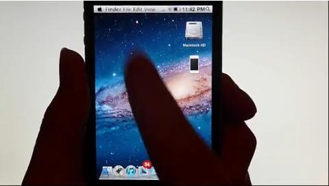 Capture d'écran 2011 09 20 à 17.11.06 Un thème met Mac OSX Lion dans votre iPhone !