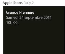 Capture d'écran 2011 09 20 à 21.31.141 Ouverture du 5e Apple Store Parisien (Parly 2) samedi prochain