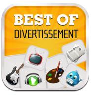 Capture d'écran 2011 09 27 à 23.28.05 Best Of Divertissement (gratuit) : une application qui opte pour le meilleur de lamusement !