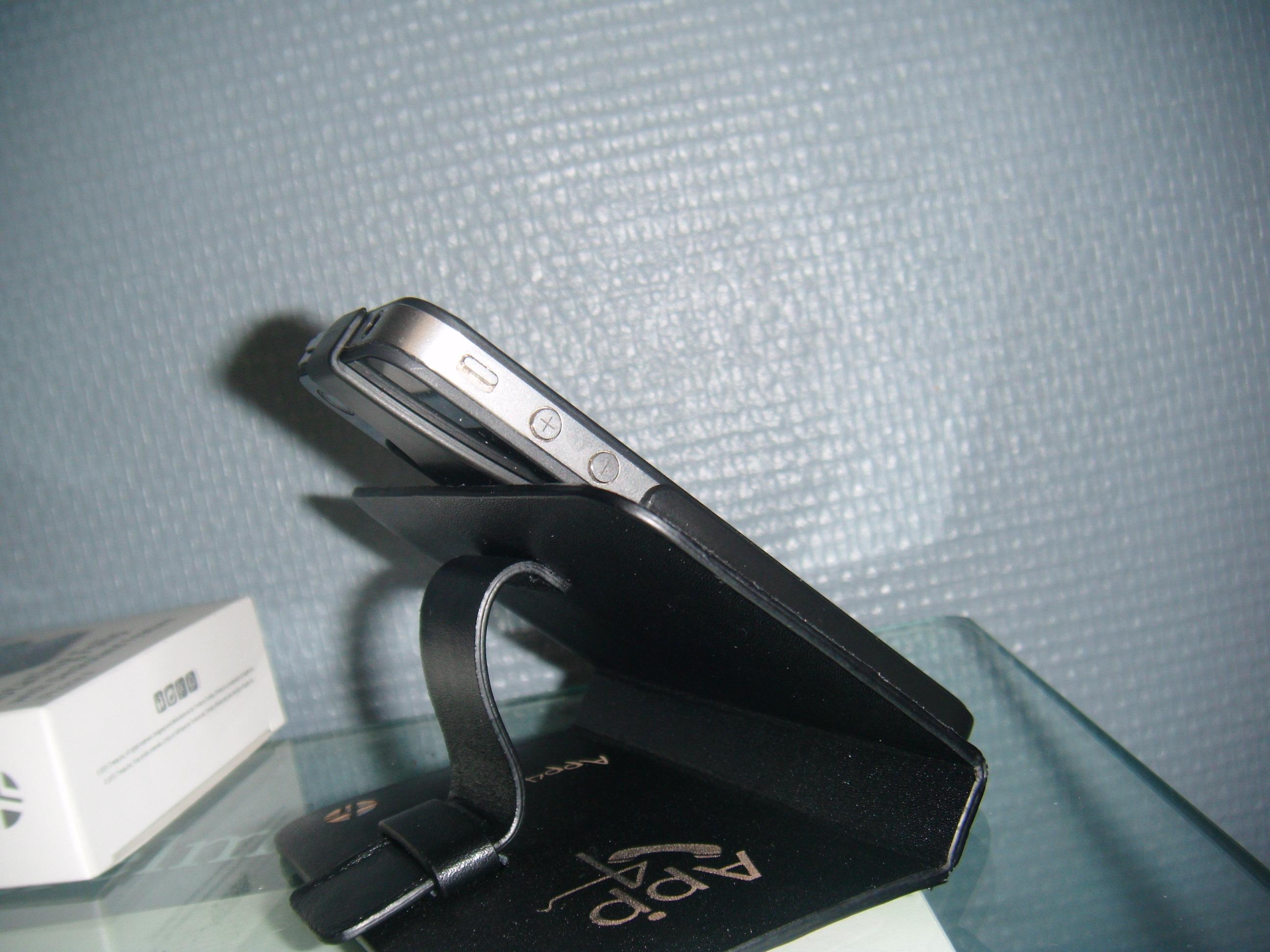 DSCF0274 [Test] Létui personnalisé Trexta Rotating Folio pour iPhone 4 (39.90€)