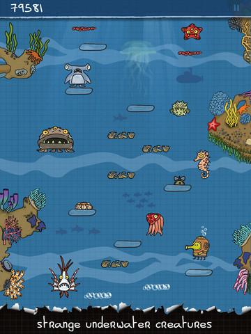 Doodle jump HD 21 Doodle Jump enfin sur liPad !
