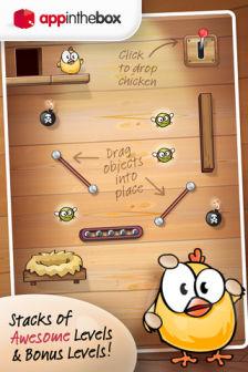 Drop the chicken Les bons plans de lApp Store ce vendredi 16 mars 2012