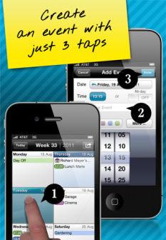 Easy calendar Les bons plans de lApp Store ce jeudi 22 septembre 2011