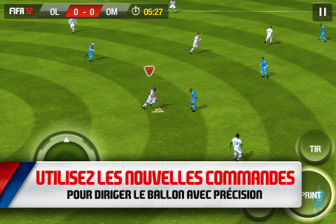 Fifa 12 3 FIFA 12 de EA Sports disponible sur lApp Store ! (4,99€)