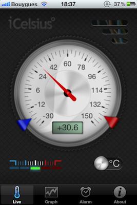 IMG 0486 [Test] iCelsius   Une sonde thermomètre ultra précise pour iDevice