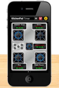 Kitchen Pad Timer Les bons plans de lApp Store ce vendredi 30 septembre 2011