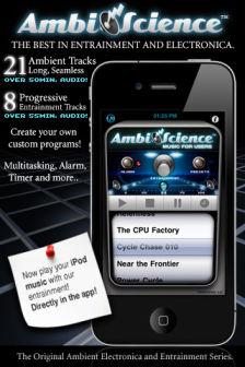 Music for ambiscience Les bons plans de lApp Store ce dimanche 25 septembre 2011