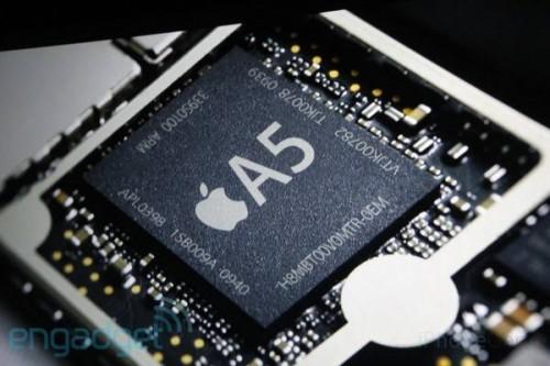 Processeur A5 500x333 [Dossier] Un résumé de toutes les nouveautés possibles pour liPhone 5 !