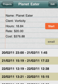 Project Timer Les bons plans de lApp Store de ce mardi 27 septembre 2011