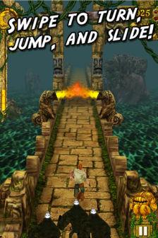 Temple Run Les bons plans de lApp Store ce lundi 19 septembre 2011