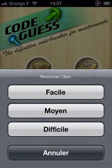 Test CodeGuess 24 [Test] Code Guess, redécouvrez le Mastermind (0,79€)