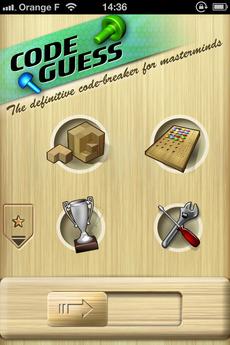 Test CodeGuess 25 [Test] Code Guess, redécouvrez le Mastermind (0,79€)