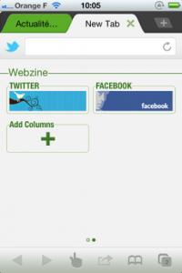 Test DolphinBrowser 04 200x300 [Test] Dolphin Browser, le nouveau navigateur web à la mode (gratuit)