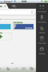 Test DolphinBrowser 17 200x300 [Test] Dolphin Browser, le nouveau navigateur web à la mode (gratuit)