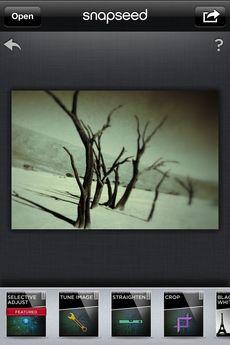 Test Snapseed 16 [Test] Retouchez vos photos avec brio grâce à Snapseed (3,99€)