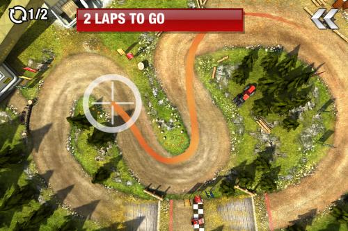 Test drawrace2 Jeu1 500x333 Test de DrawRace 2   La course automobile réinventée sur iOS (0,79€)