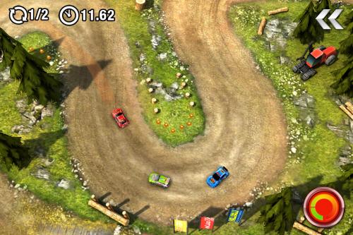 Test drawrace2 Jeu2 500x333 Test de DrawRace 2   La course automobile réinventée sur iOS (0,79€)