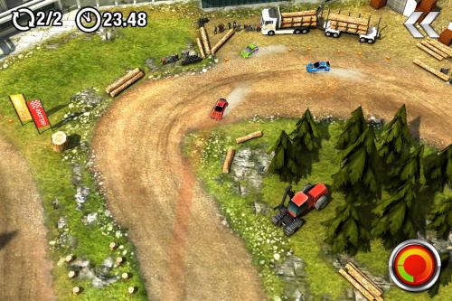 Test drawrace2 Jeu3 500x333 Test de DrawRace 2   La course automobile réinventée sur iOS (0,79€)