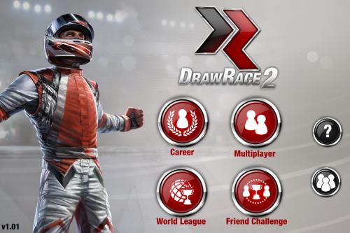 Test drawrace2 accueil 500x333 Test de DrawRace 2   La course automobile réinventée sur iOS (0,79€)