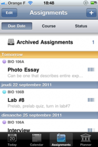 Test iTeacherBook 02 200x300 [Test] iTeacherBook, lagenda idéal pour les profs (3,99€)
