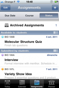 Test iTeacherBook 04 200x300 [Test] iTeacherBook, lagenda idéal pour les profs (3,99€)