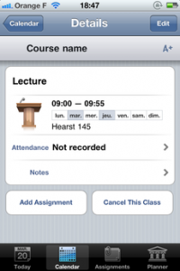 Test iTeacherBook 05 200x300 [Test] iTeacherBook, lagenda idéal pour les profs (3,99€)