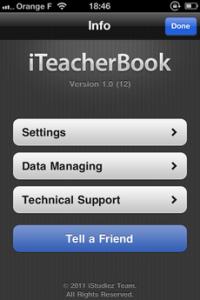 Test iTeacherBook 111 200x300 [Test] iTeacherBook, lagenda idéal pour les profs (3,99€)