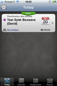 Test iTeacherBook 121 200x300 [Test] iTeacherBook, lagenda idéal pour les profs (3,99€)