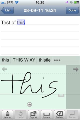 Test7notes008 Test de 7notes et 7Notes Premium   Prendre des notes imagées sur iPhone et iPad