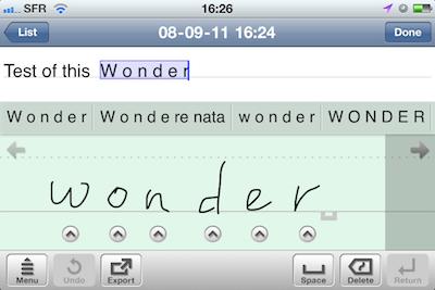Test7notes009 Test de 7notes et 7Notes Premium   Prendre des notes imagées sur iPhone et iPad